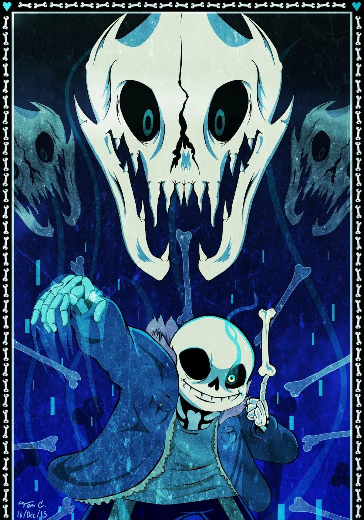 фотографии скелетов из андертейл того что