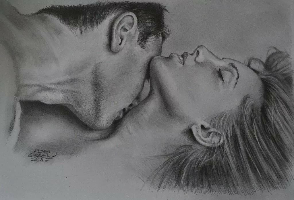 Картинки романтические карандашом