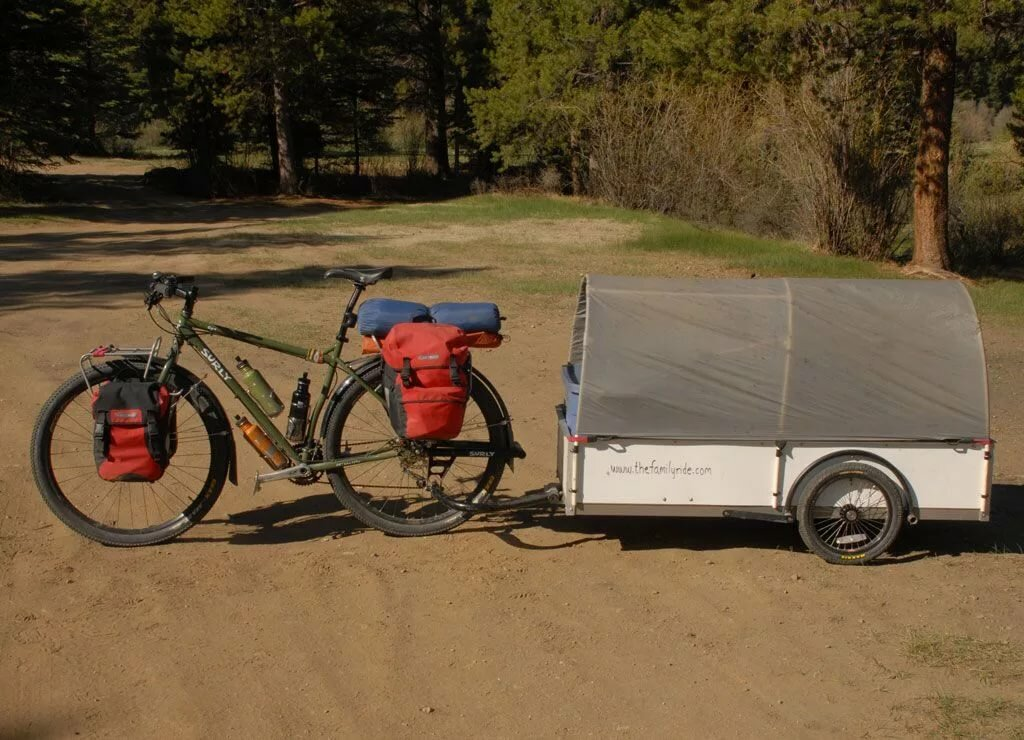 картинка прицепа для велосипеда кафе наполняется любителями