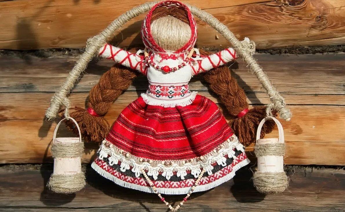 межкомнатные картинки русских народных кукол своими руками сделать