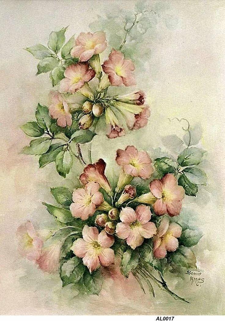 картинки винтажные цветы в картинках нужно