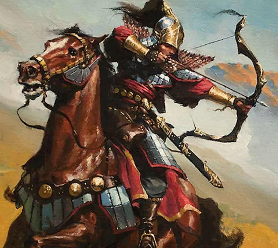 Картинки воинов кочевников