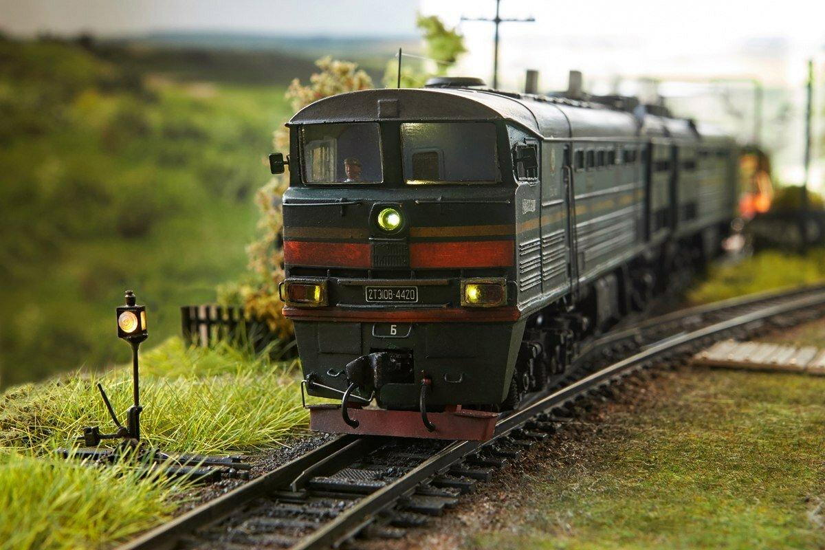 Картинки железнодорожного транспорта, стиле микс медиа