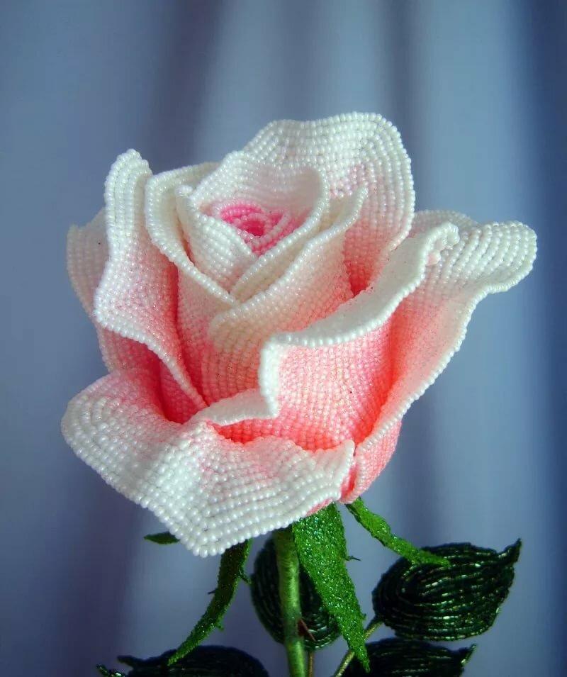 стал настолько розы из бисера фото новые мастер класс чтоб