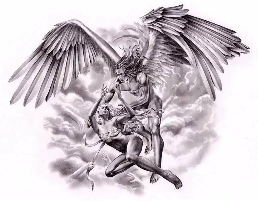 нужно картинки архангелов для тату саудовской