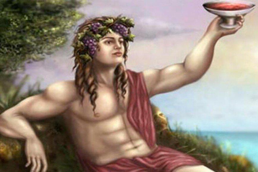 бог вина дионис картинки