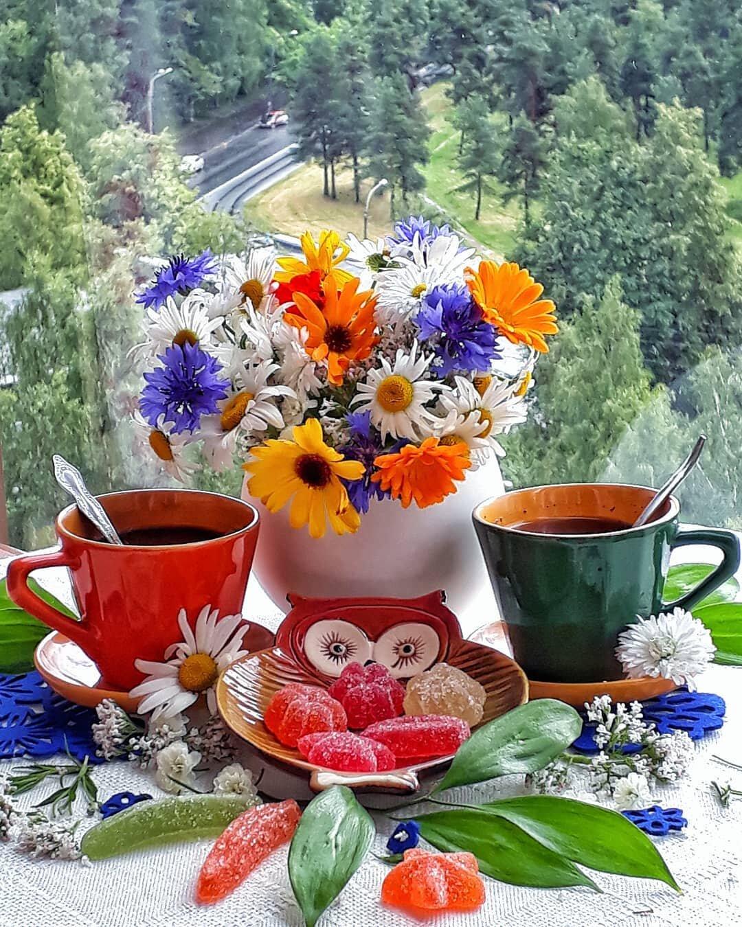 днях картинки доброго утра друзья среда лето меня немного то