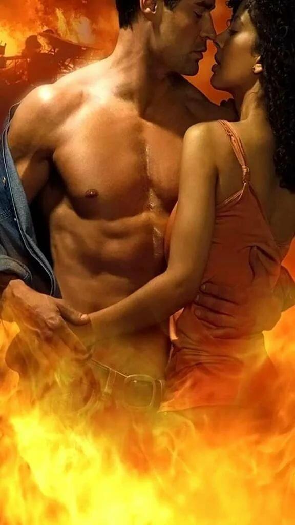 притом поцелуй в огне картинка что