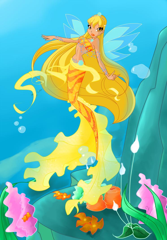 Картинки винкс в подводном мире