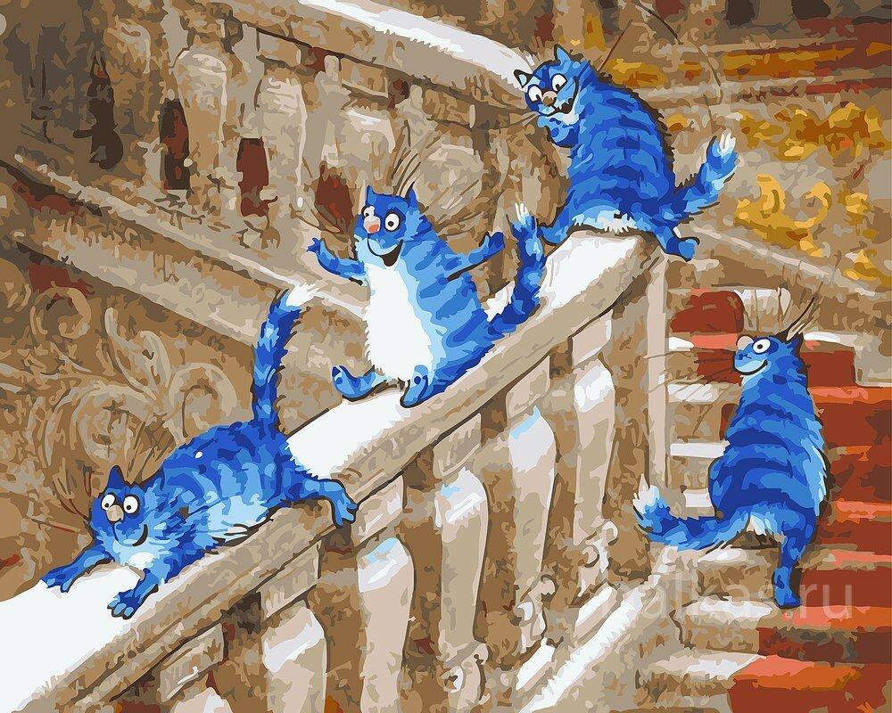 Турция, голубой кот открытки