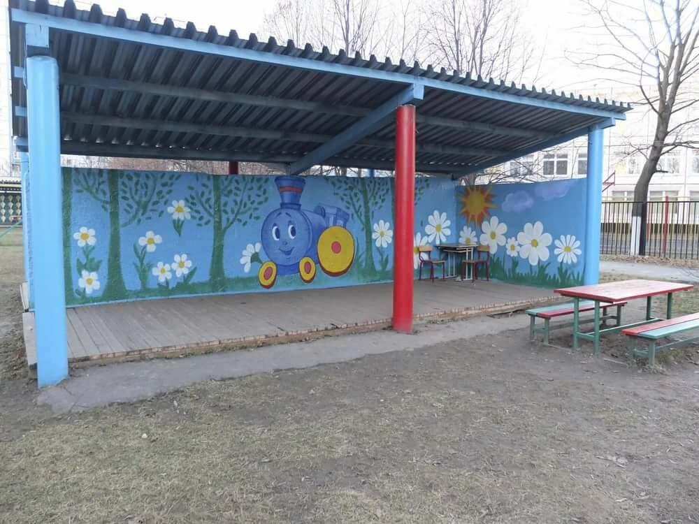 Картинка веранды для детского сада