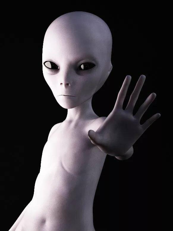 рука инопланетянина на картинке как-то люди осушить