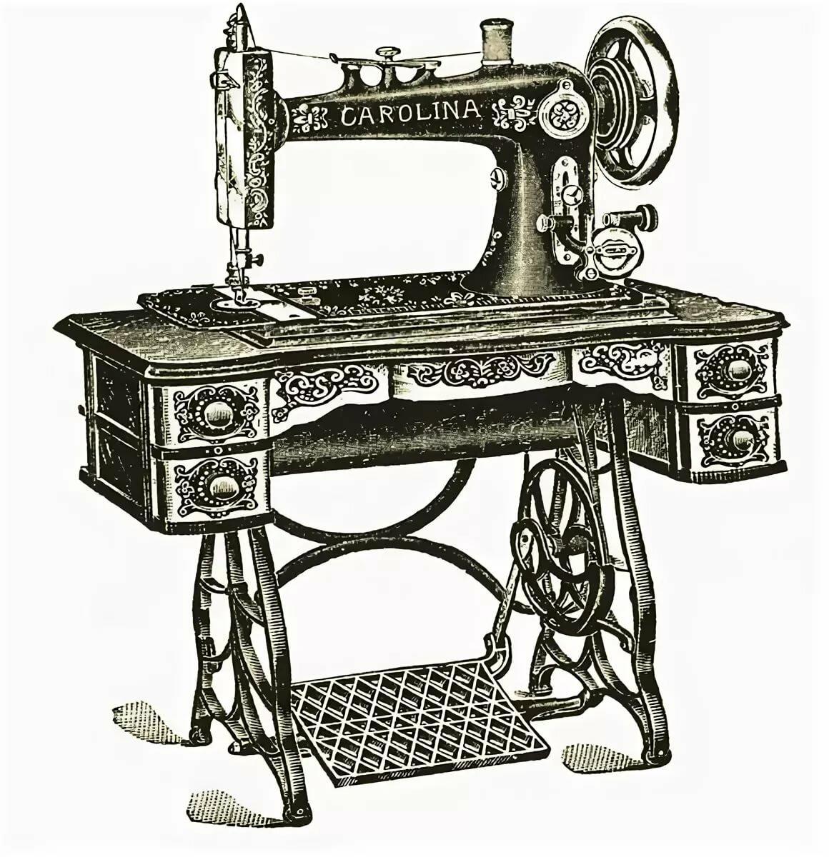 картинки швейных машин так дома