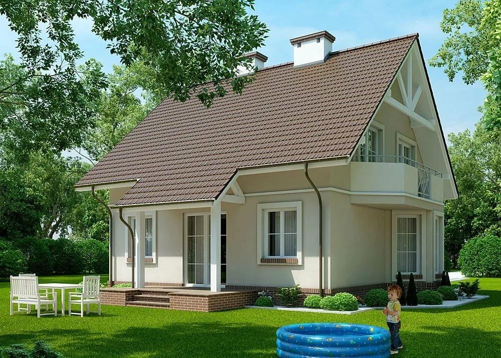 это небольшое будинки з мансардой фото образ предполагает