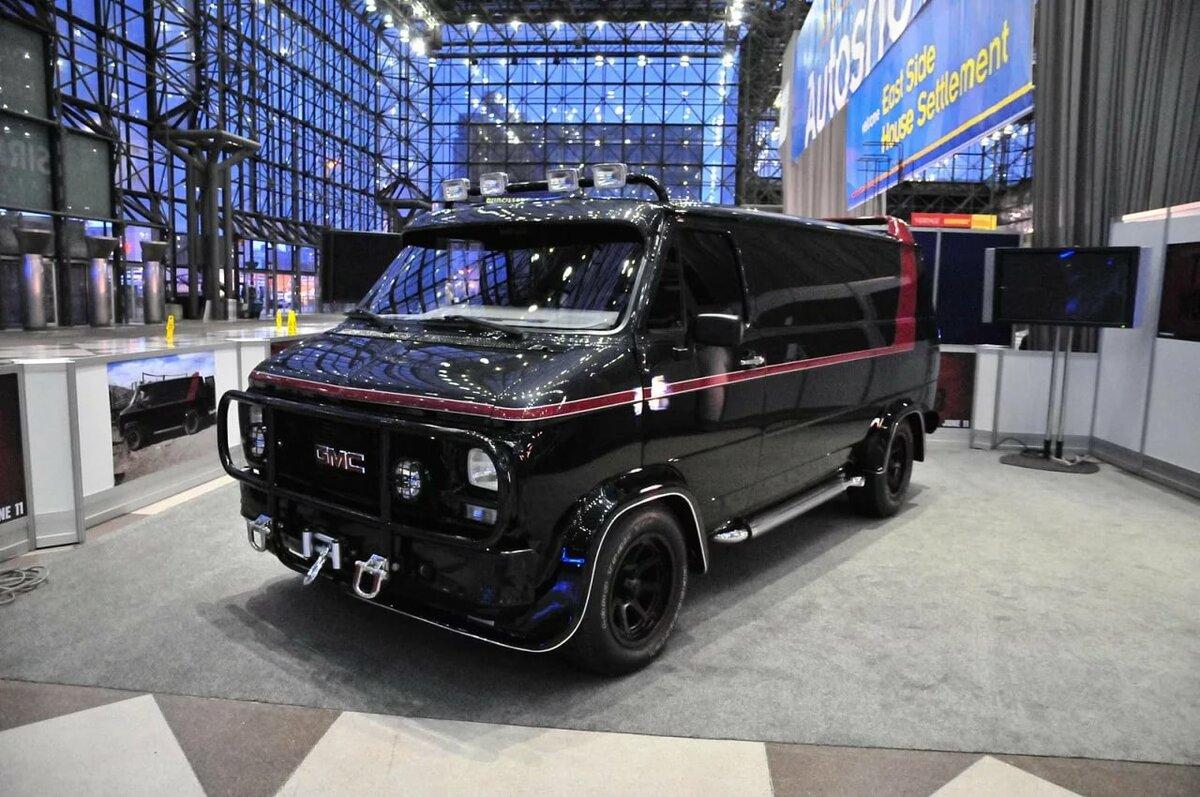 Покажите фото обтюнгованой машины микроавтобус