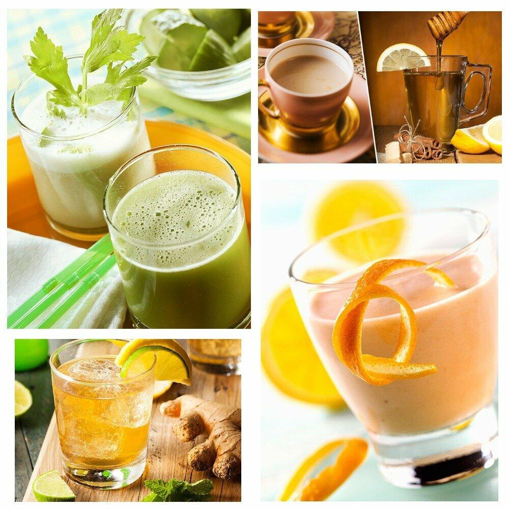 Простые напитки от похудения