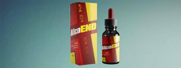 AlcoEnd капли от алкоголизма в Елеце