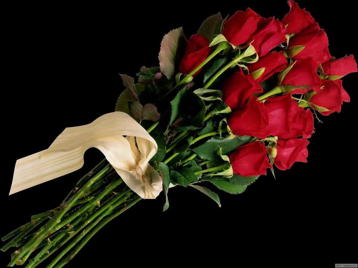 Картинки букетов роз на память