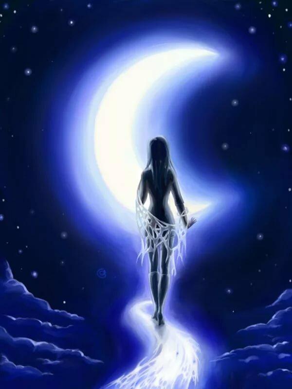 странах луна картинки красивые эзотерические фото