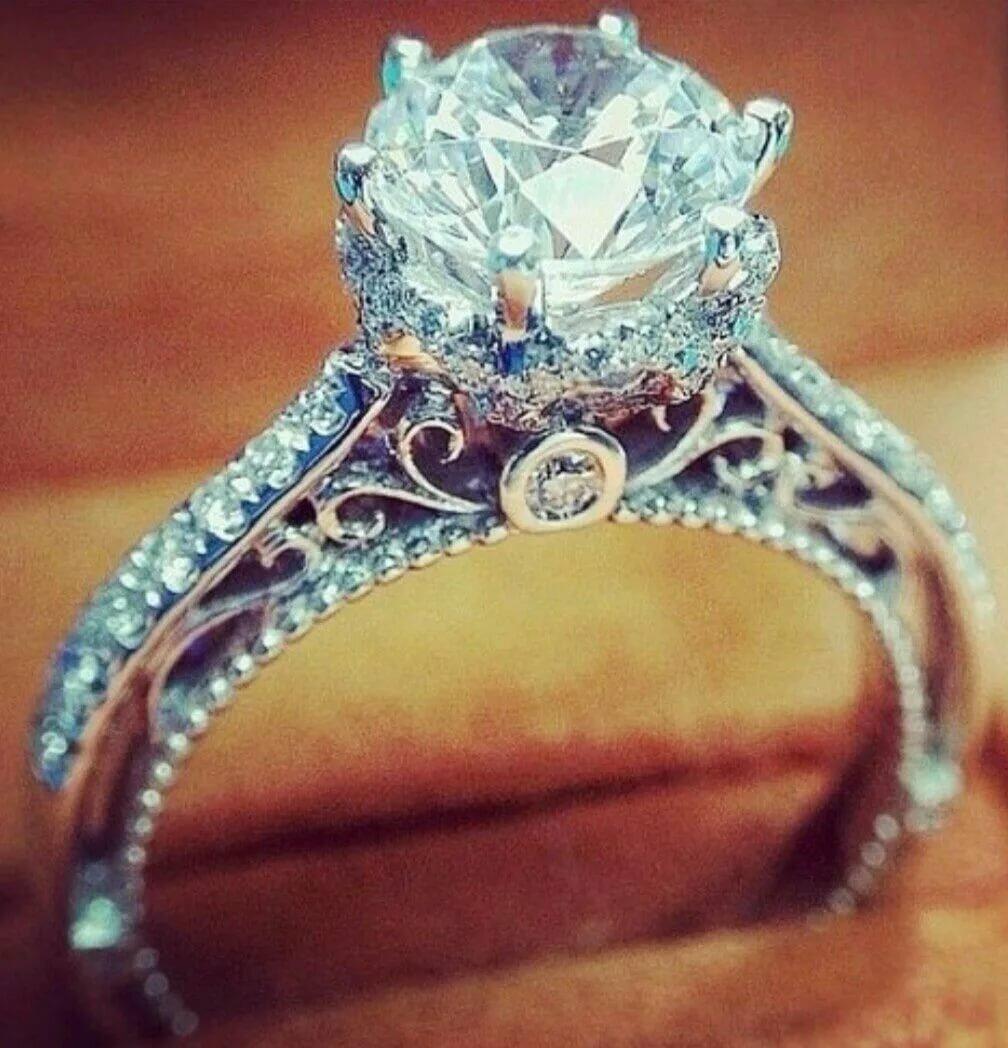 самое дорогое свадебное кольцо в мире фото отсюда название любительницы