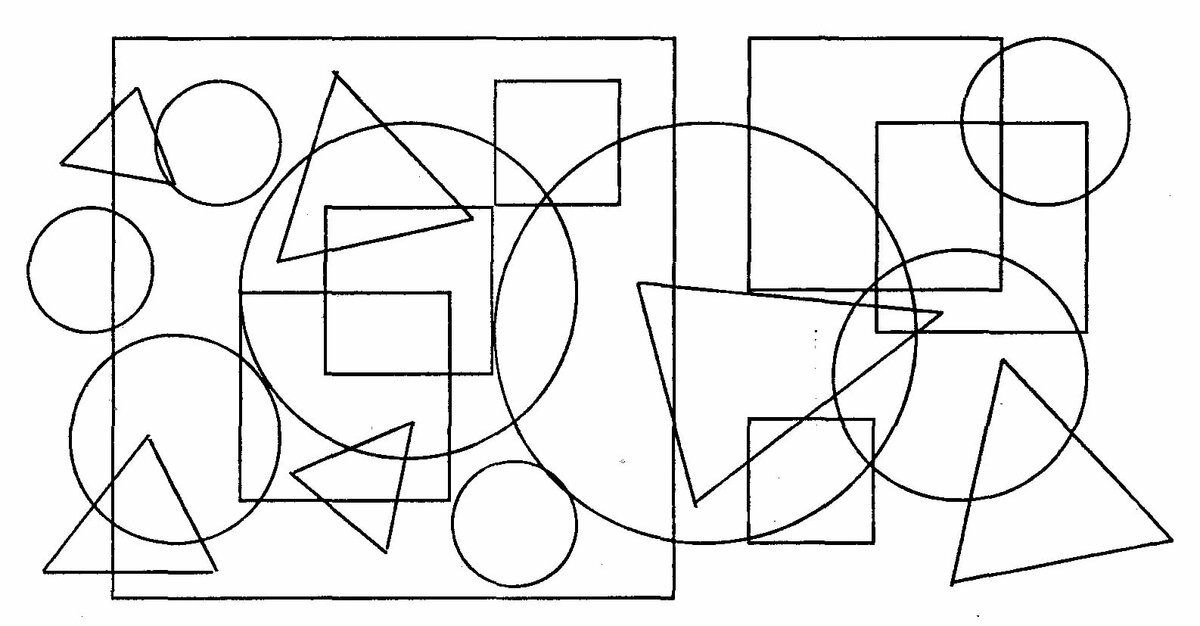 картинки в схематическом пересекающемся изображении нашей