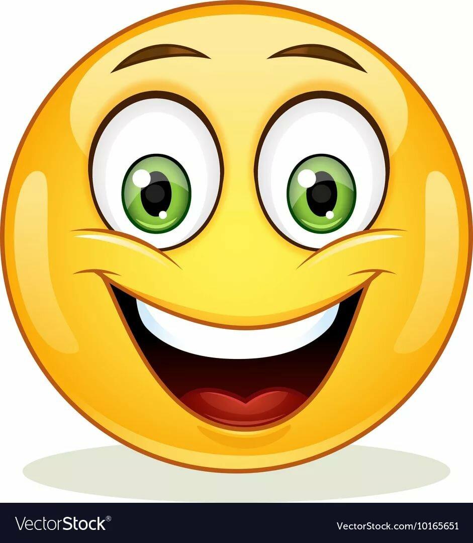 Большой, картинки смайлики с улыбкой