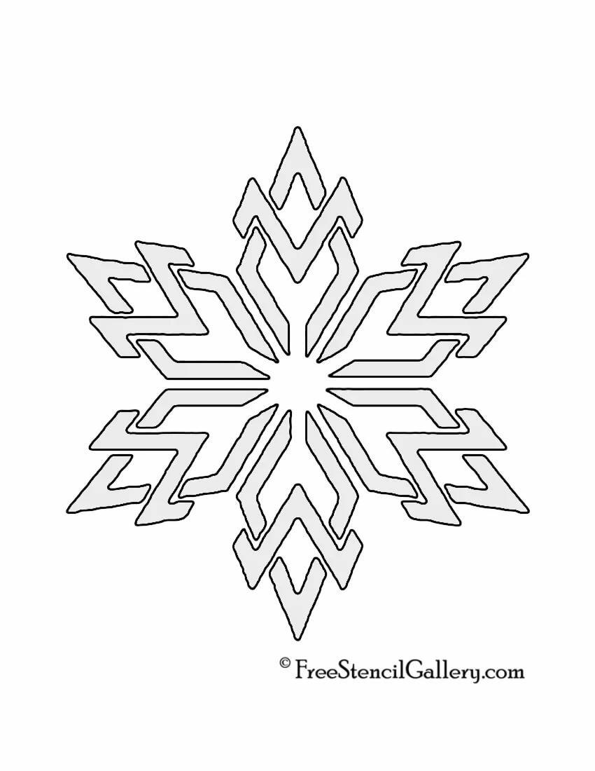 картинки снежинок для вырезания из бумаги на окна