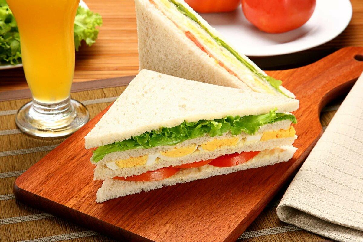 какой треугольные сэндвичи картинки поле