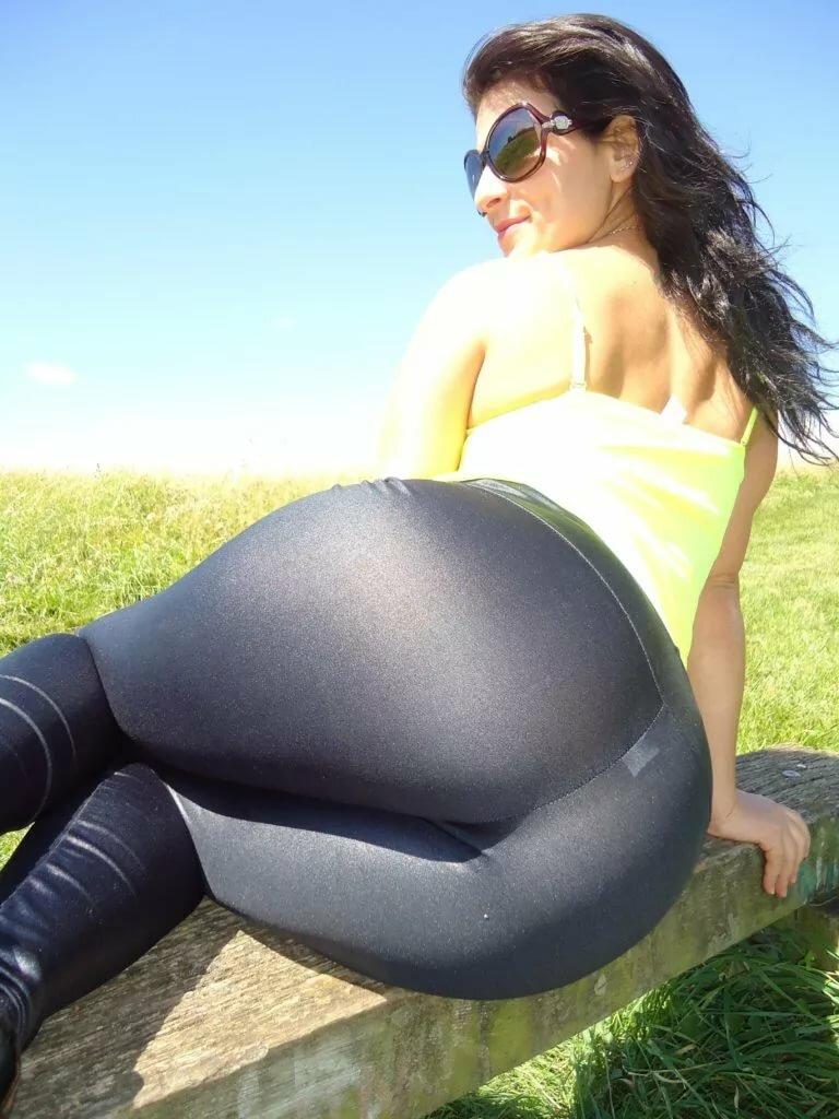 Big ass girl spandex #15