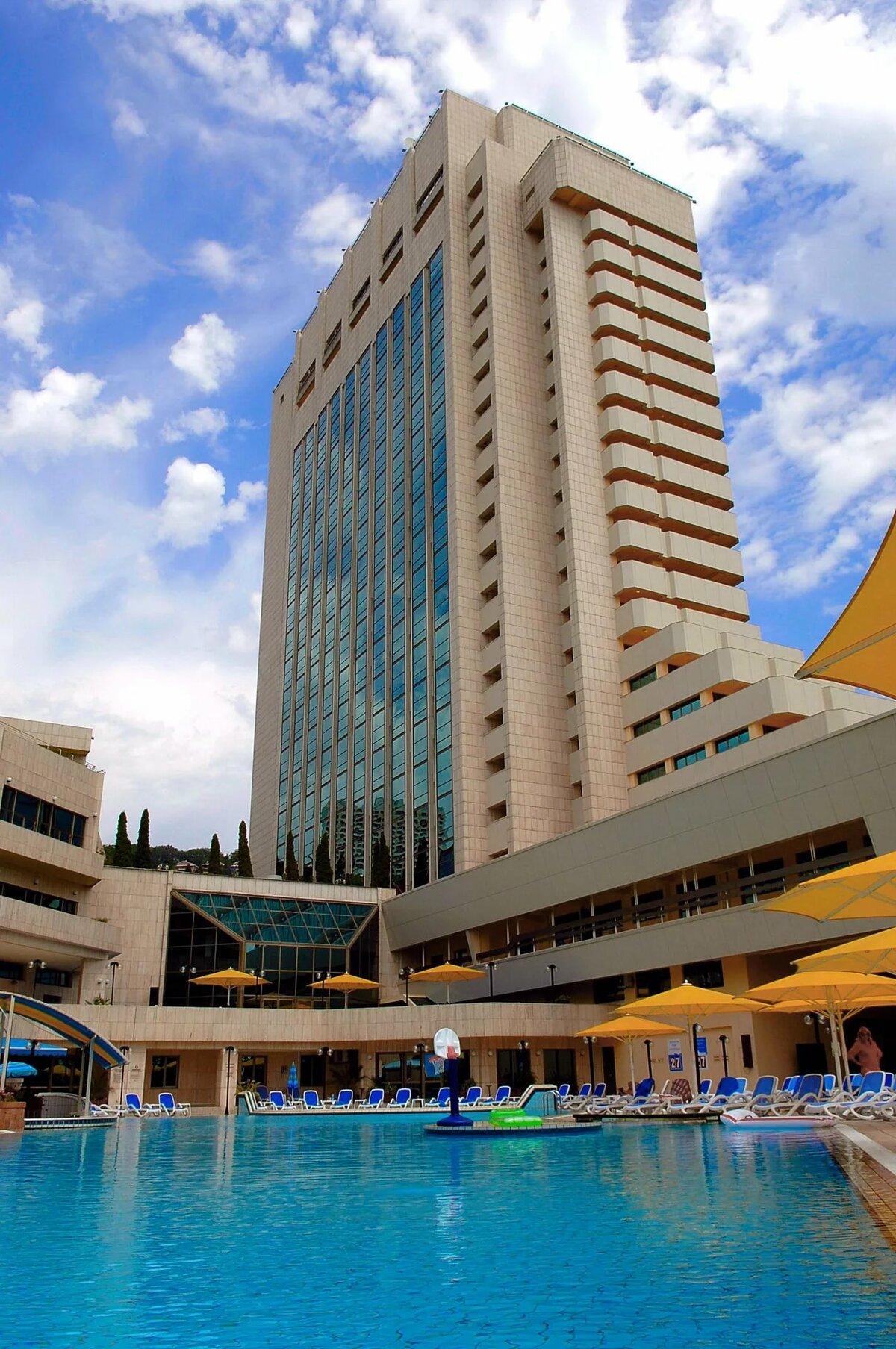 Фото крутых отелей в сочи