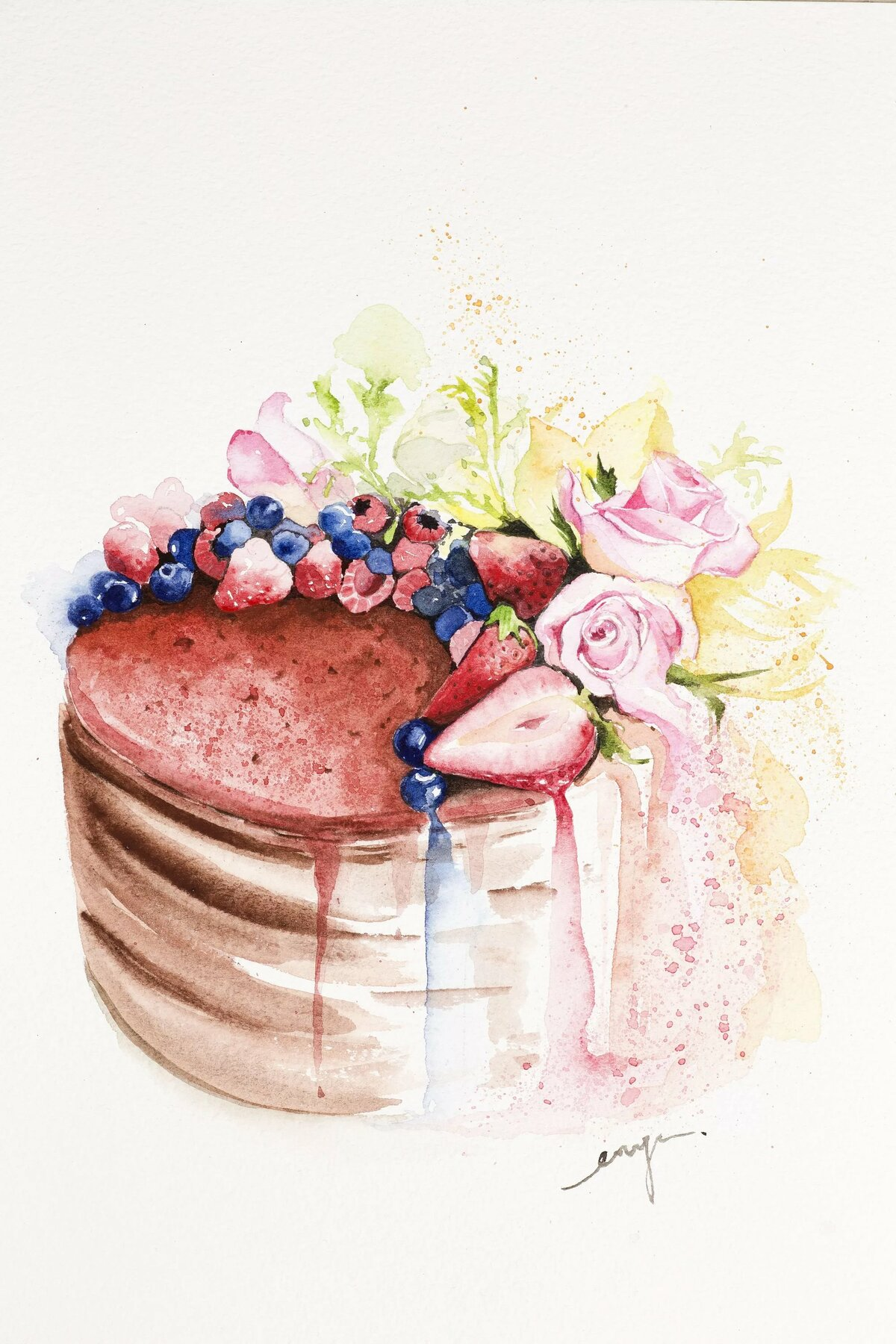 Открытки винтаж торты