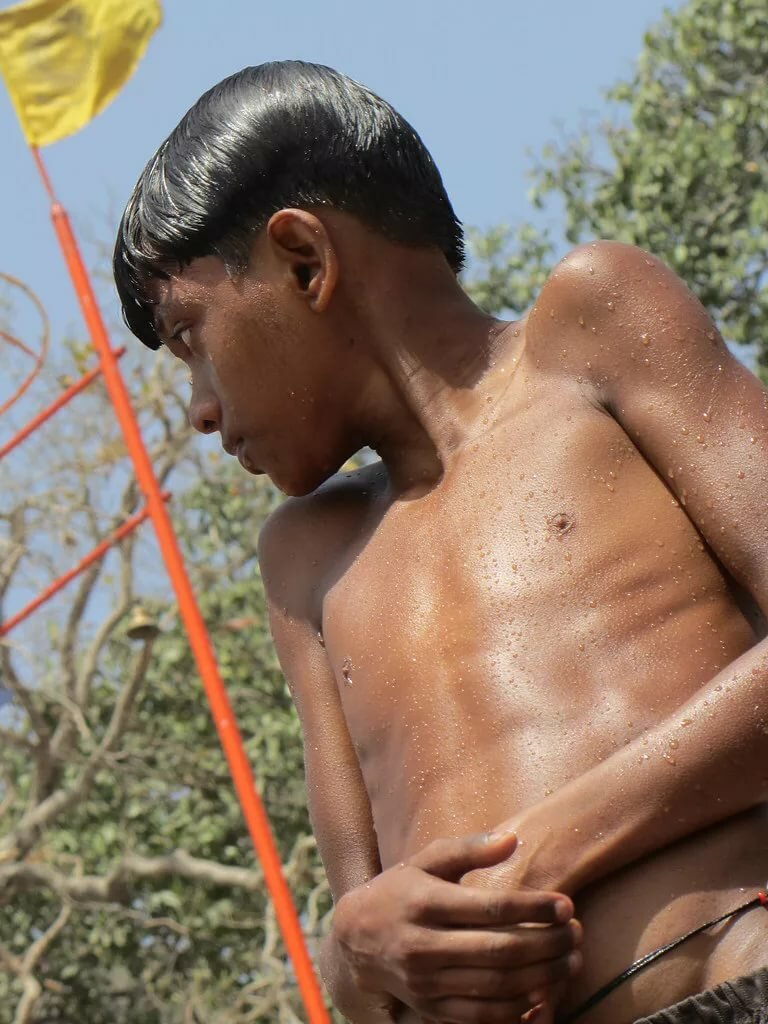 Nudity in indian teen boys, girls squeezing balls