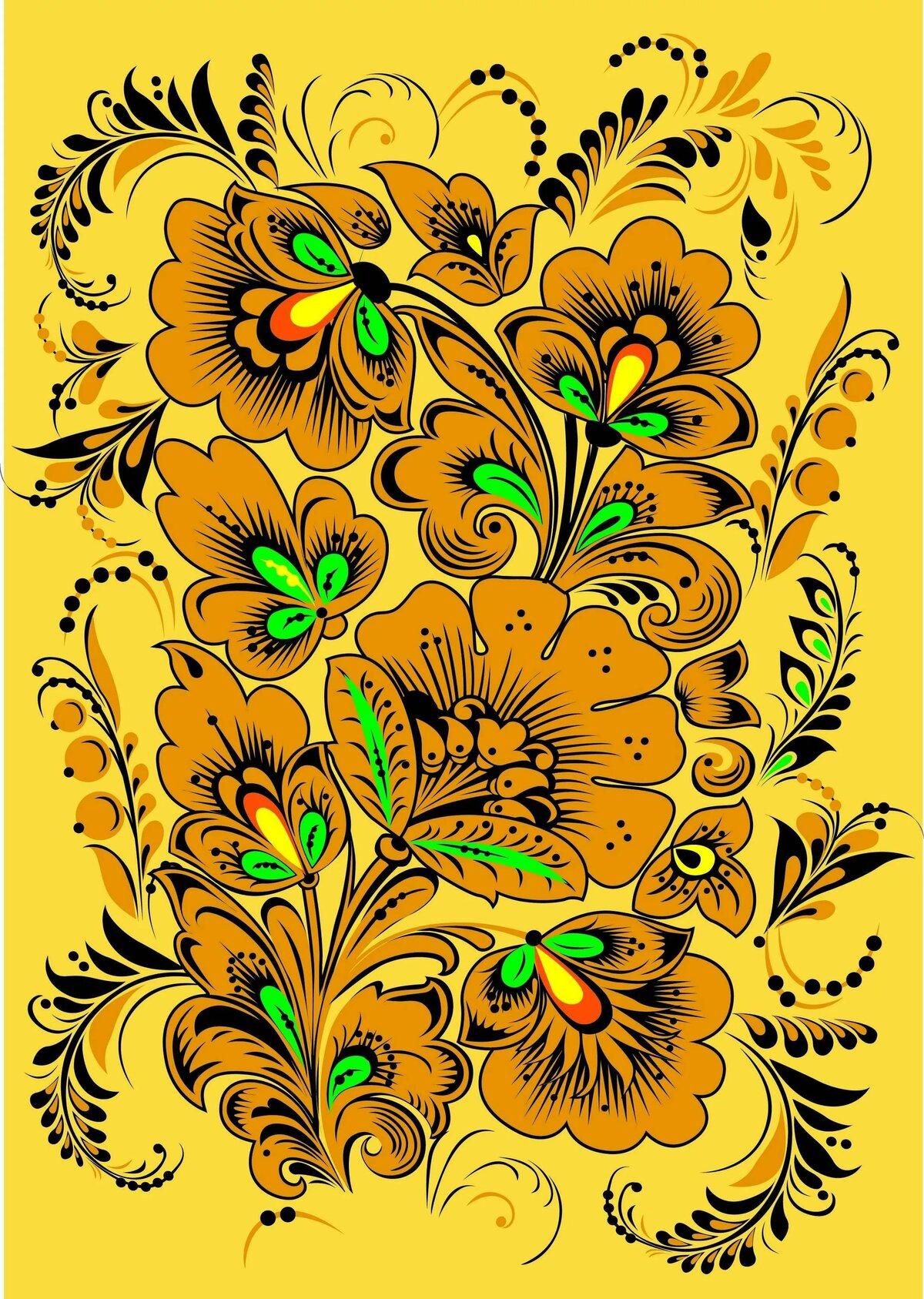 Русский орнамент образцы картинки