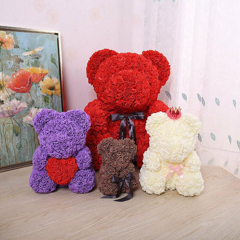Мишки из розы ручной работы в Киеве