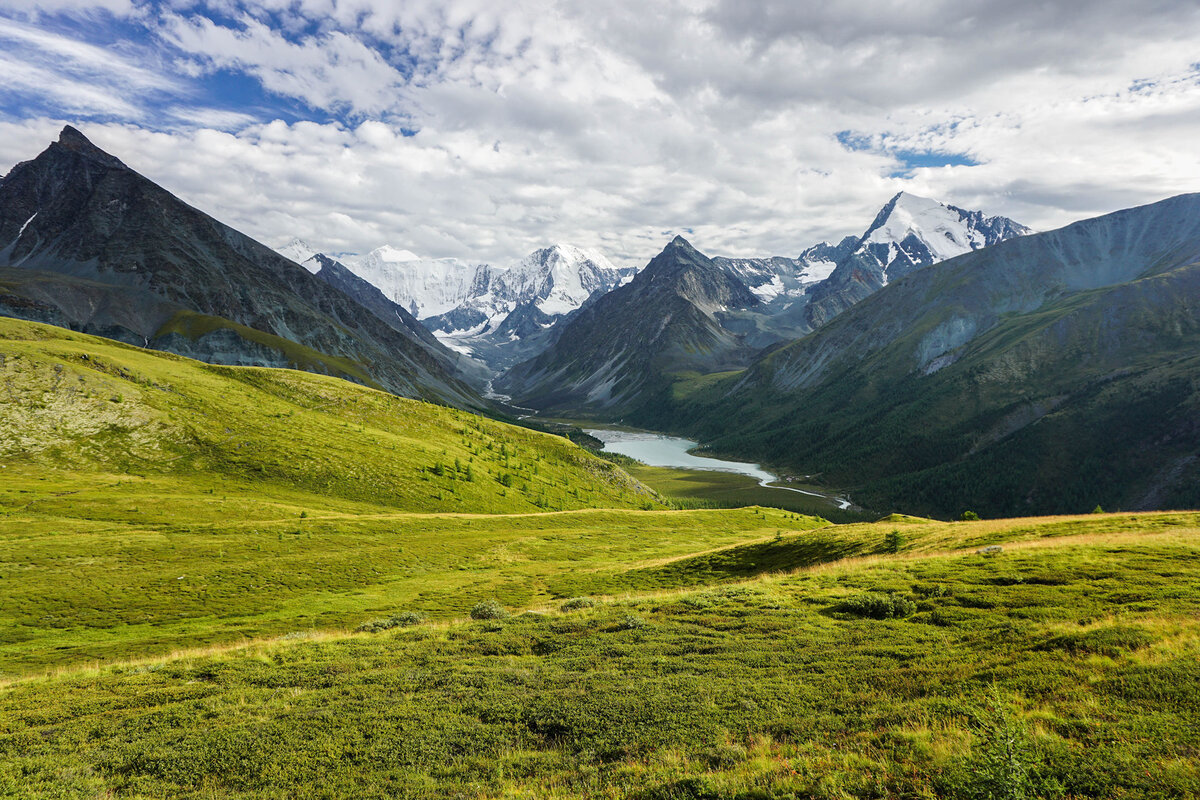 гора Белуха Алтай фото