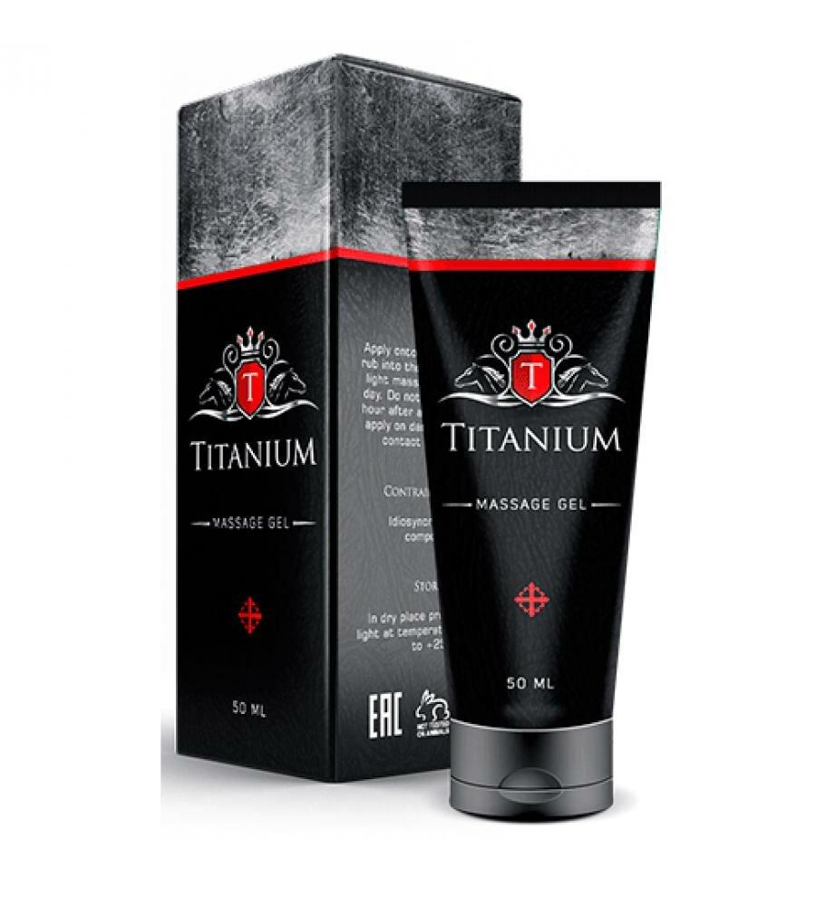 Titanium - крем для увеличения члена в Новомосковске