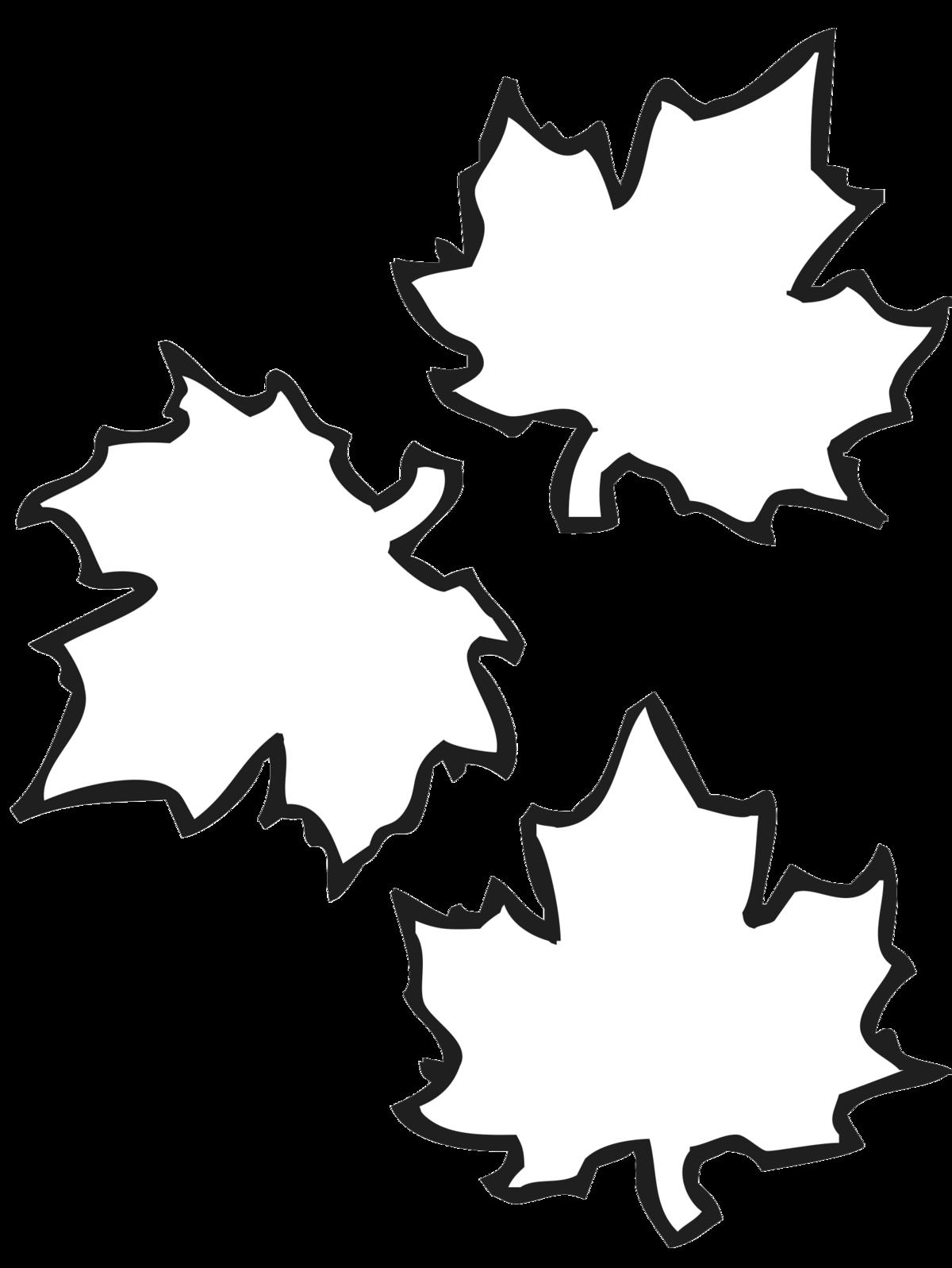 Картинки шаблоны осенние листья