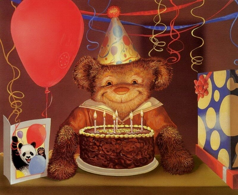 Поздравление с днем рождения на ночь