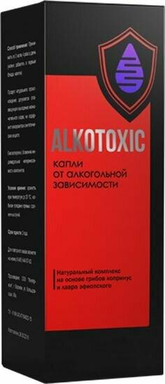 Alkotoxic - капли от алкоголизма в Копейске