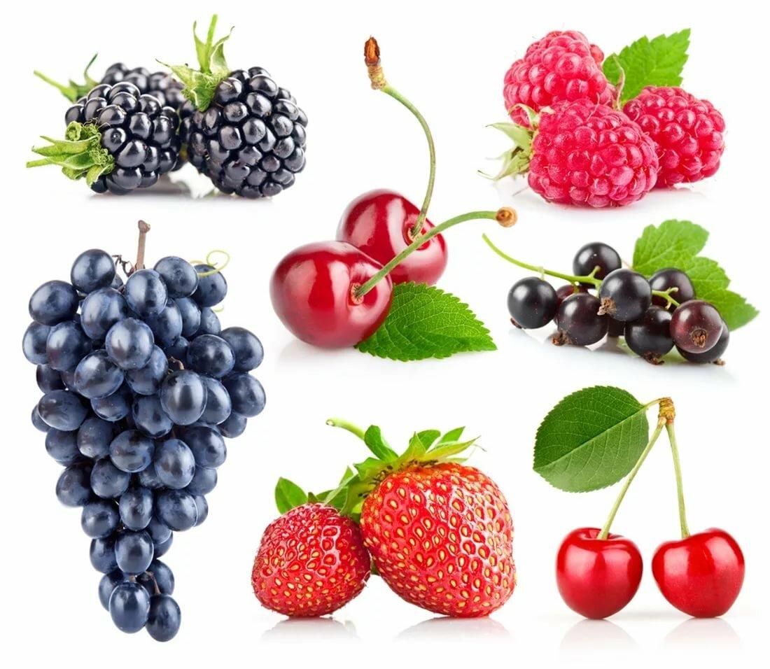 Картинки про ягоды для детей