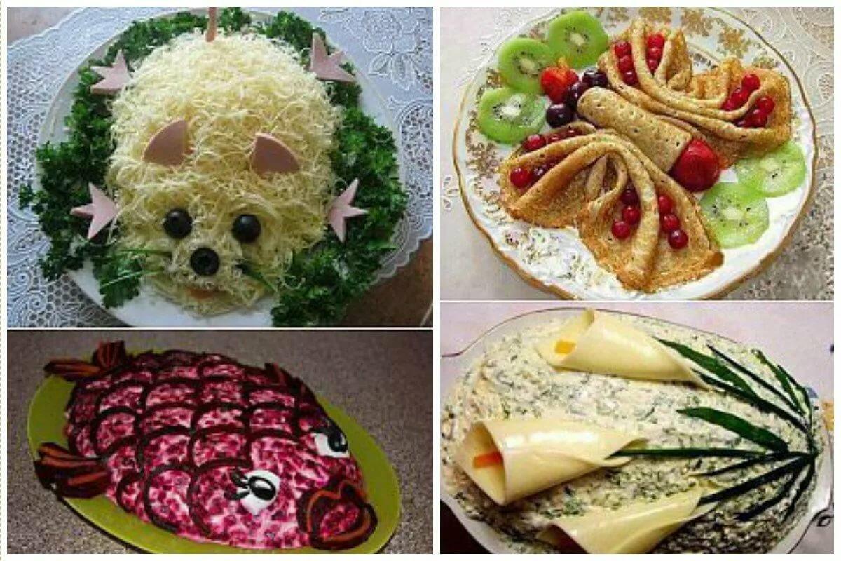 Как можно красиво украсить блюда фото