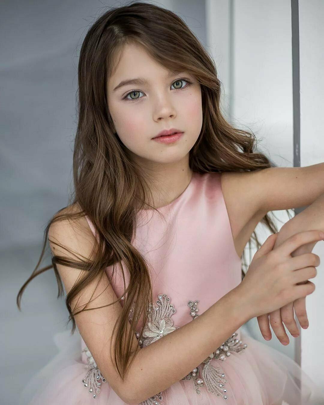 Cute girl junior model teen