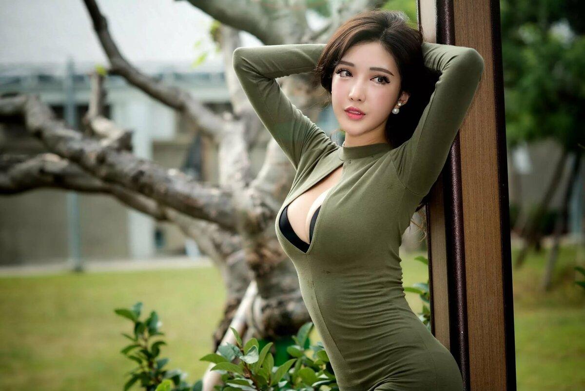 Nude asian women big tits