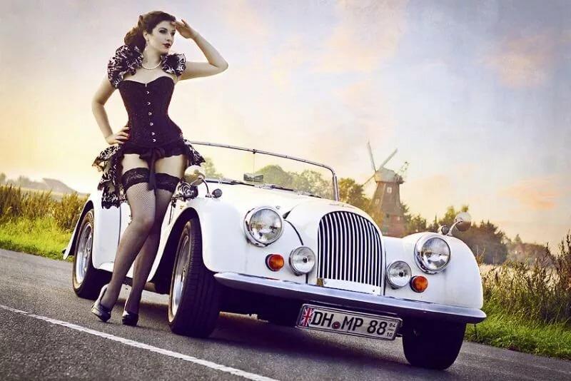 Sexy cars retro