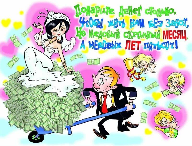 Поздравление на свадьбу прикольное коллективное