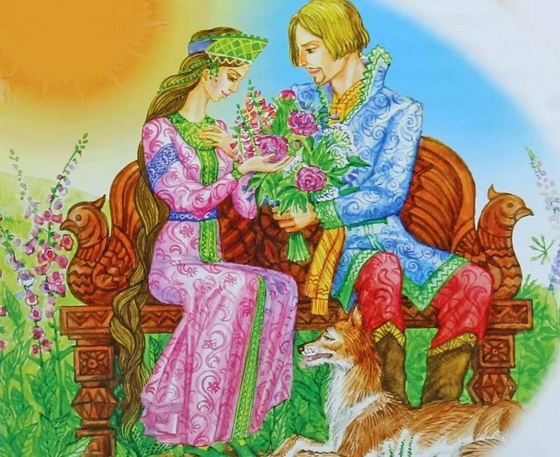 Рисунок свадьба ивана царевича и елены прекрасной, картинки годовщиной свадьбы