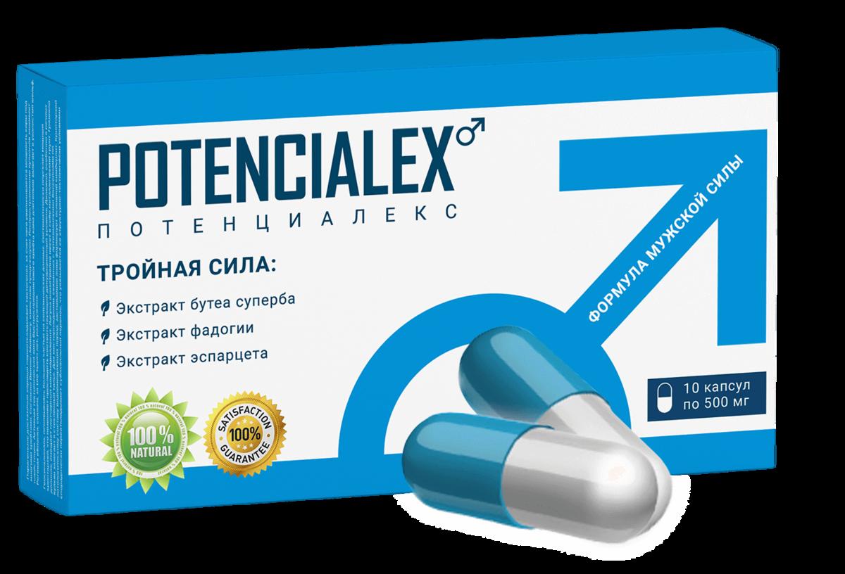 POTENCIALEX для повышения потенции в Челябинске