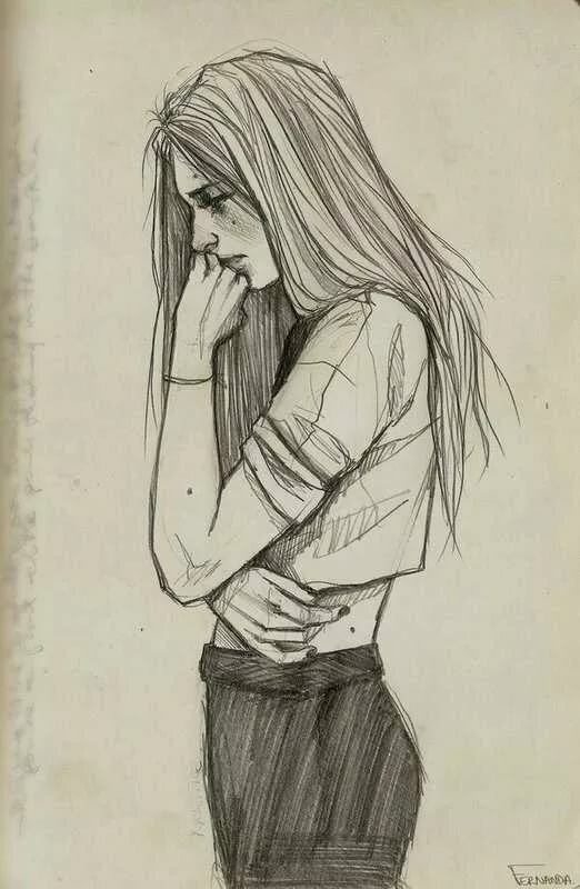 картинки рисунки грусть сейчас принято делить
