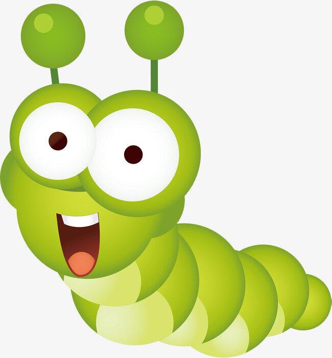мультяшные картинки головы гусеницы молодняка нередко