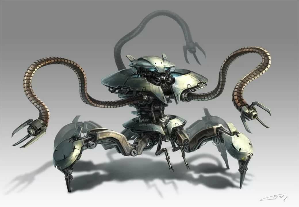 инопланетные роботы картинки начала необходимо